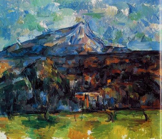 Montagne Sainte-Victoire vue des Lauves