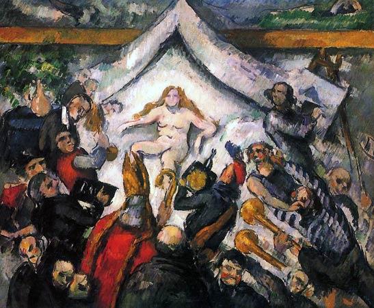 Paul Cézanne l'éternel Féminin