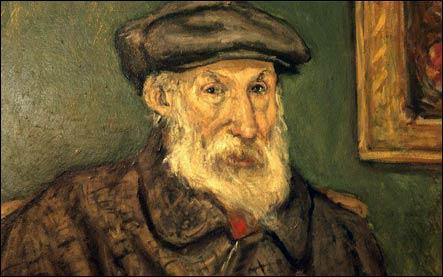 Auguste Renoir autoportrait Cagne-sur-Mer