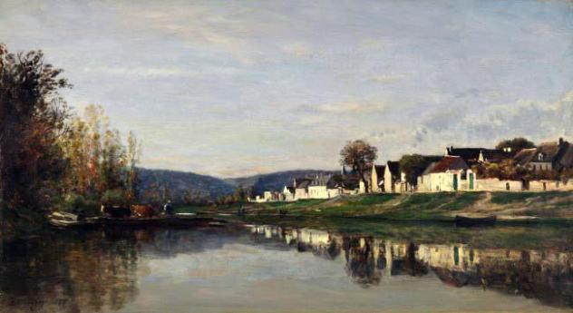 peintres impressionnistes Charles François Daubigny