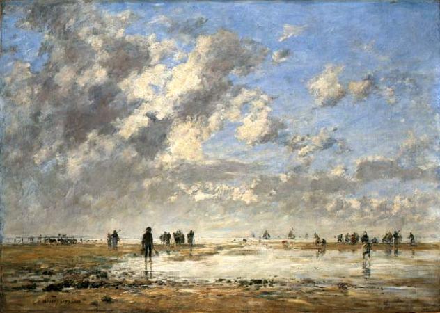 Eugène Boudin peintre impressionniste