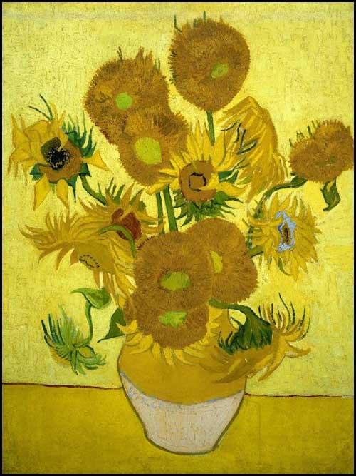 Vincent Van Gogh Les tournesols