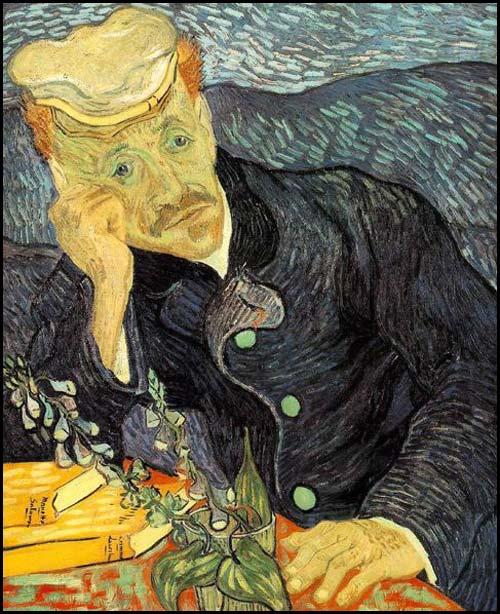 Vincent Van Gogh : portrait du docteur Gachet