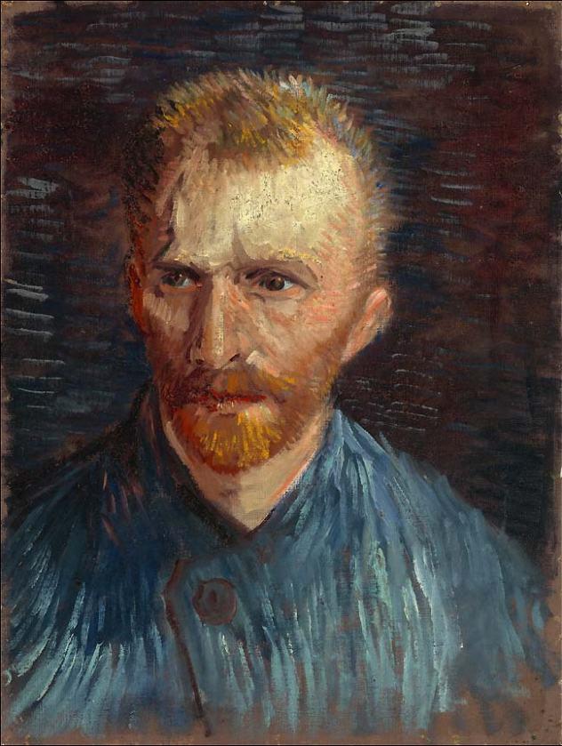 Vincent van Gogh autoportrait