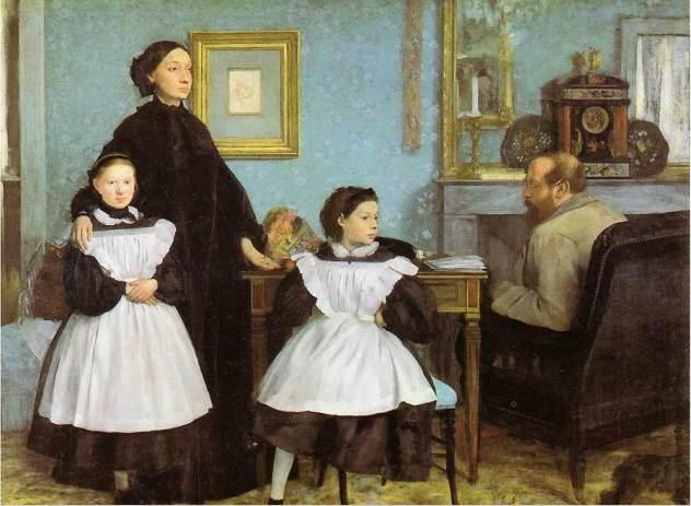 Edgar Degas famille Bellelli