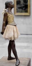 Sculpture Edgar Degas Jeune Danseuse de quatorze ans.