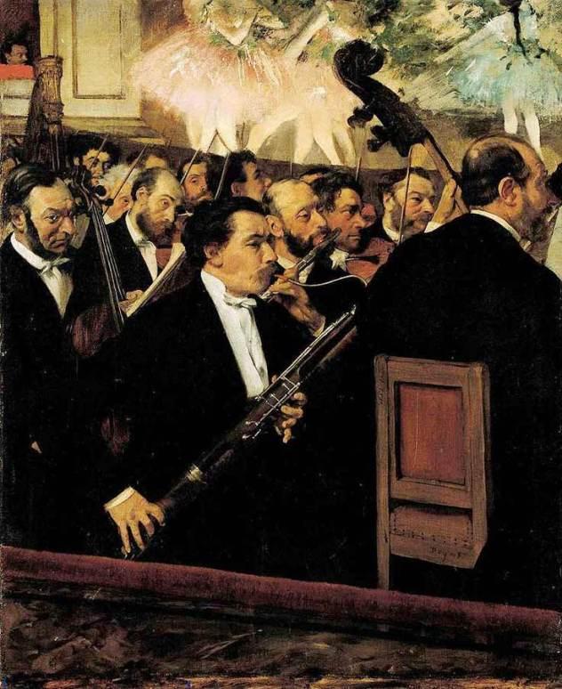 Edgar Degas l'orchestre de l'opéra