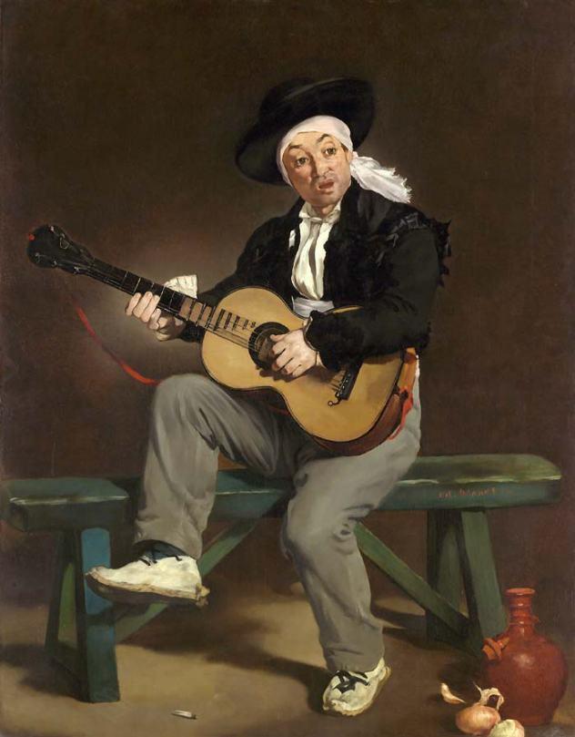 le guitariste chanteur espagnol