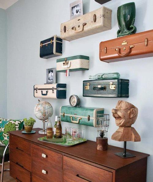 valises anciennes antiquit s deschambault. Black Bedroom Furniture Sets. Home Design Ideas