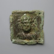 Bronze Figural Plaque