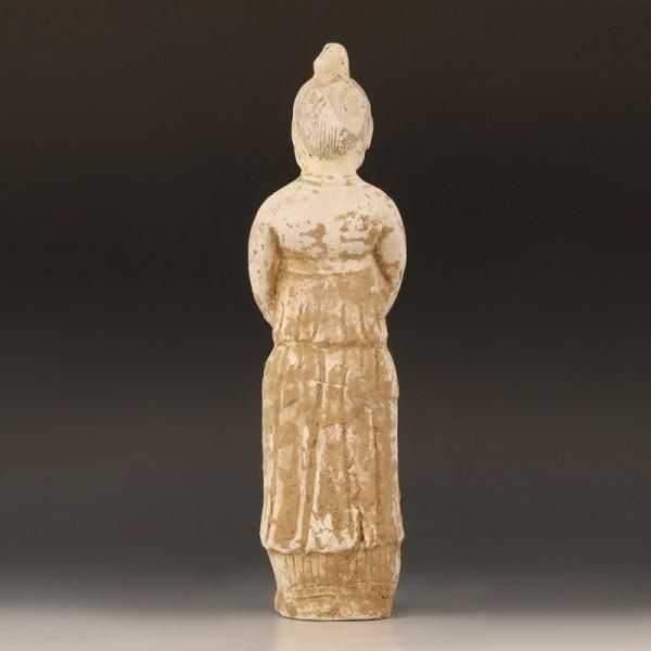 Ceramic Statuette Of A Court Attendant