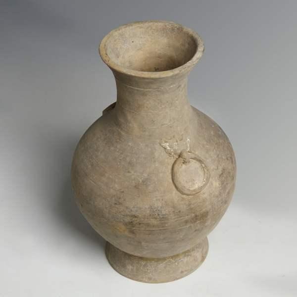 Chinese Han Dynasty Greyware Hu