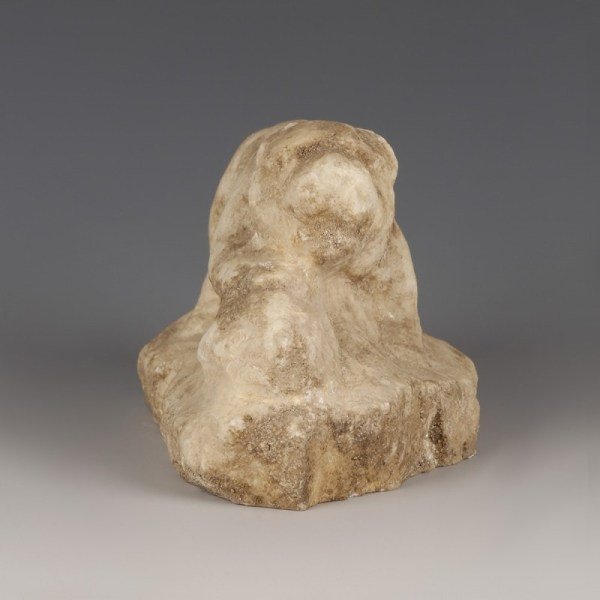 Marble of Lion Devouring Animal Head