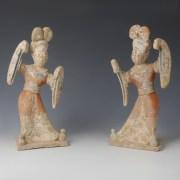 Pair of Tang Female Dancers