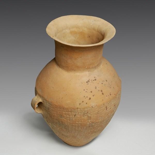 Rare Large Chinese Neolithic Qijia Storage Jar