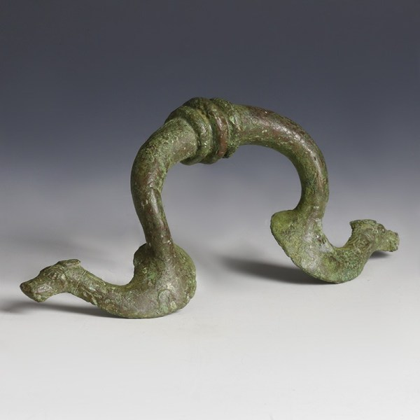 Roman Bronze Furniture Handle