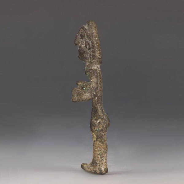 Scarce Canaanite Bronze Figure Of A God