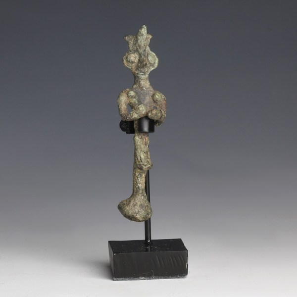 Syro-Hittite Bronze Female Idol