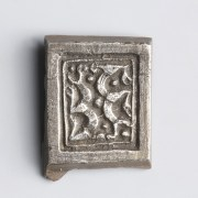 Anglo-Saxon Chip-Carved Silver Belt Mount