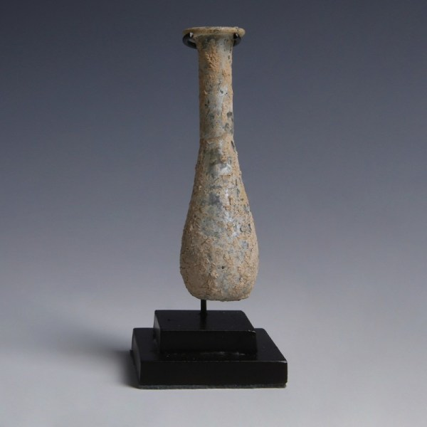 Roman Pale Green Glass Unguentarium