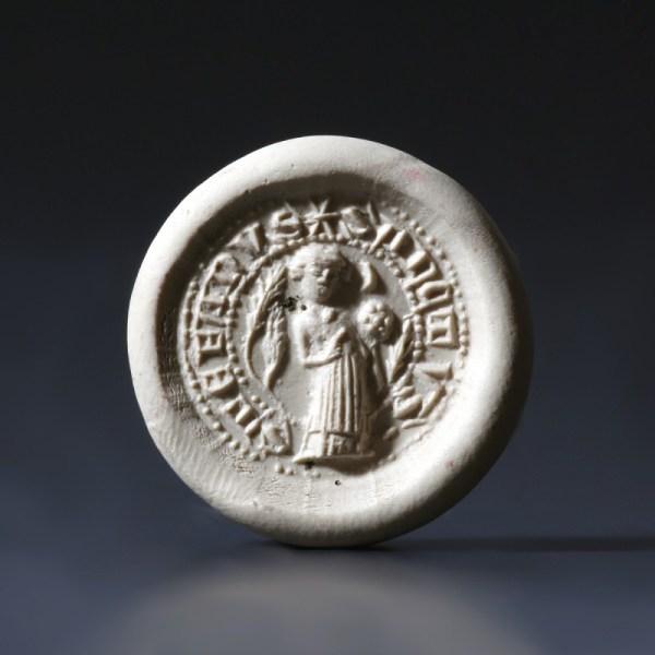 St. Stephen Round Bronze Seal