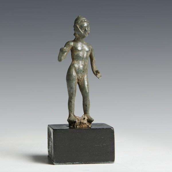 Rare British Celtic Bronze Warrior Statuette