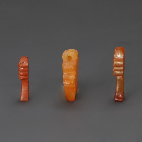 Ancient Egyptian Amulets In Carnelian