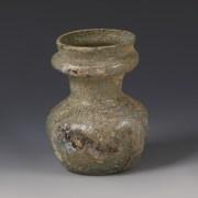 Roman Glass Collared Jar