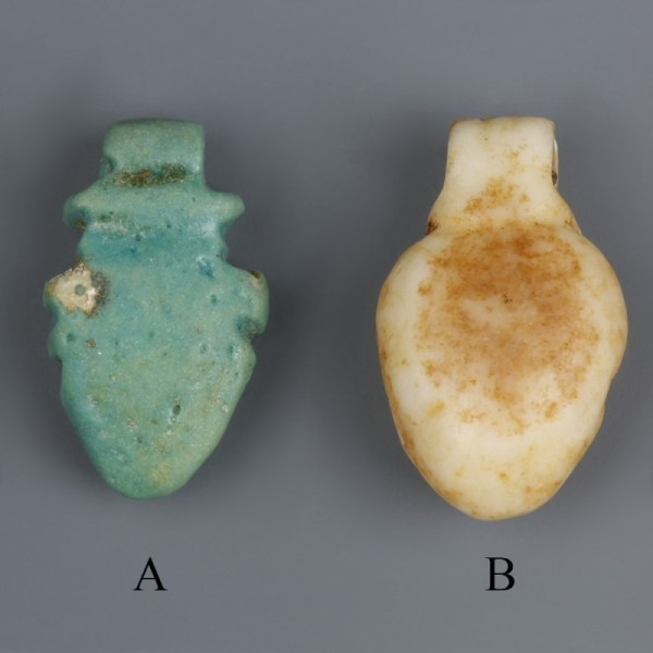 Egyptian Amarna Heart Amulets