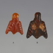 Egyptian Red Jasper Fly Amulets