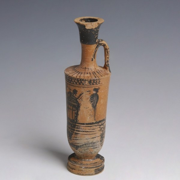 Greek Black-Figure Lekythos