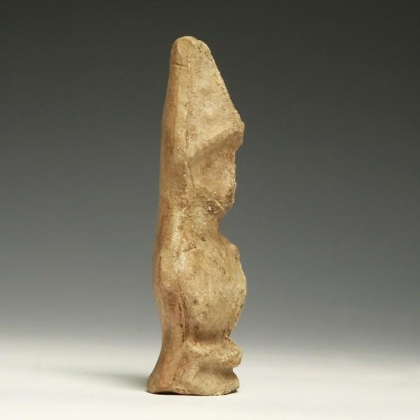 Greek Terracotta Bust of Athena