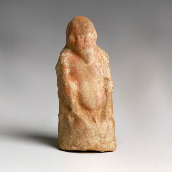 Greek Terracotta Figurine of Silenus