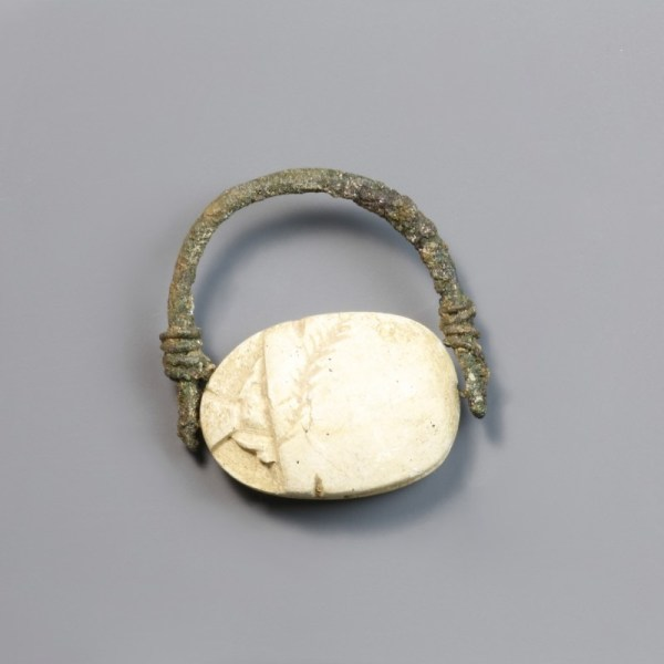 Hyksos Period Egyptian Scarab Ring