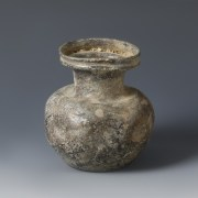 Indented Roman Glass Jar