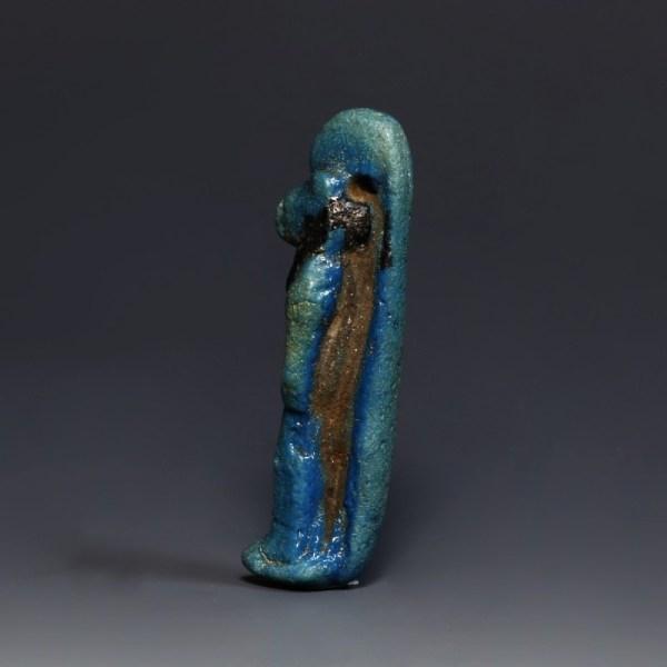 Large Egyptian Faience Sekhmet Amulet