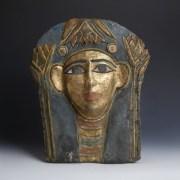 Egyptian Cartonnage Mummy Mask