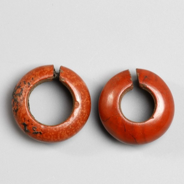 Egyptian New Kingdom Hair Ring Pair