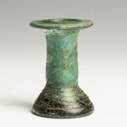 Romano-Egyptian Cast Glass Unguentarium