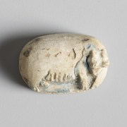 Egyptian Hippopotamus Plaque from the Mustaki Collection