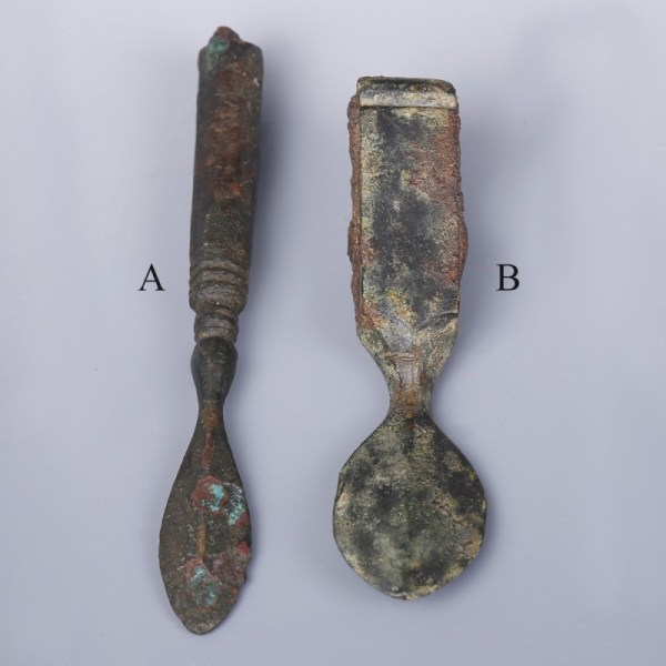 Roman Bronze Medical Scalpels