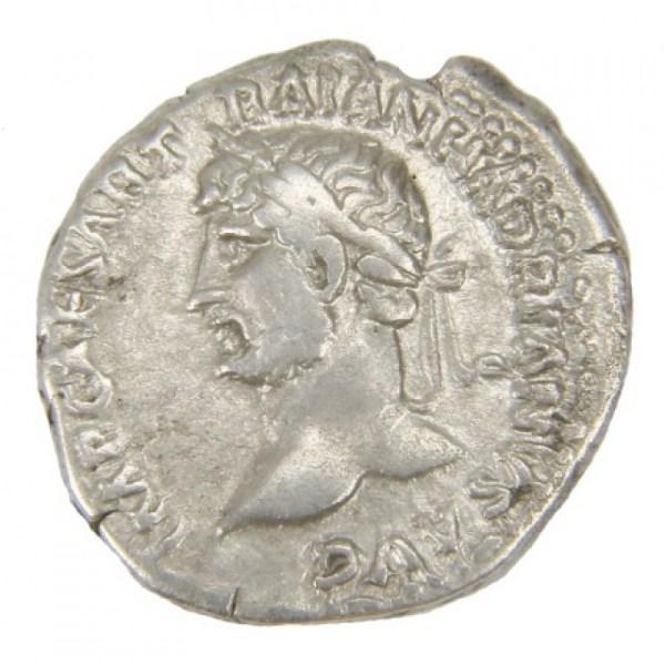 Hadrian Ar. denarius (AD 117-138)