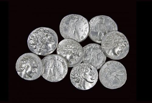 Ptolemaic Kingdom of Egypt Ar. Tetradrachm Selection