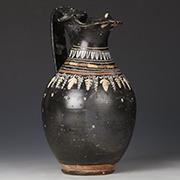 ancient greek pottery oinochoe