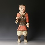 Chinese Tang Dynasty Warrior Figure