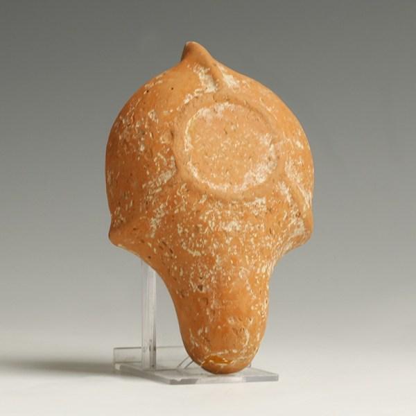 Provenanced Roman North Africa Redware Lamp