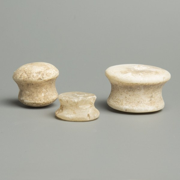 Egyptian Senet Game Pieces
