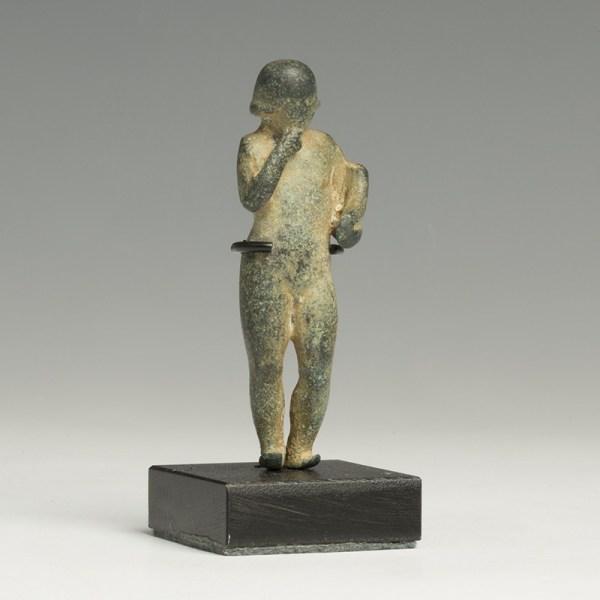 Phoenician Bronze Statuette of Harpocrates