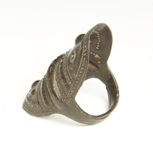 Rare Viking Bronze Finger Ring