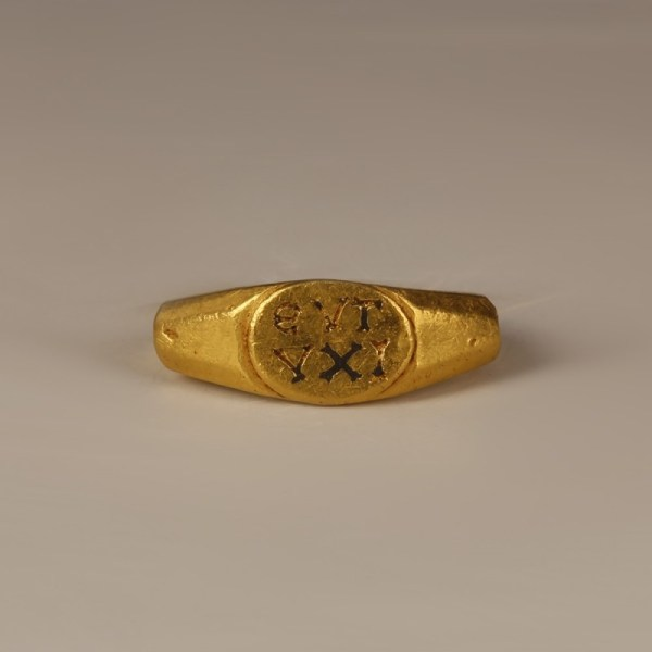 Roman Ring with Inscription